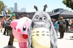 Kirby from the Kirby series, and Totoro fromm My Neighbor Totoro