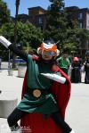 The Great Saiyaman from the Dragon Ball Z series