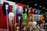 Purple Plum Inc Wig booth in the Dealer Hall