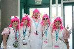 A group of Nurse Joys. Hmm something seems wrong here...