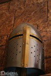Knight Helm inside the restaurant