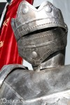 Another suit of armor in front of Excalibur