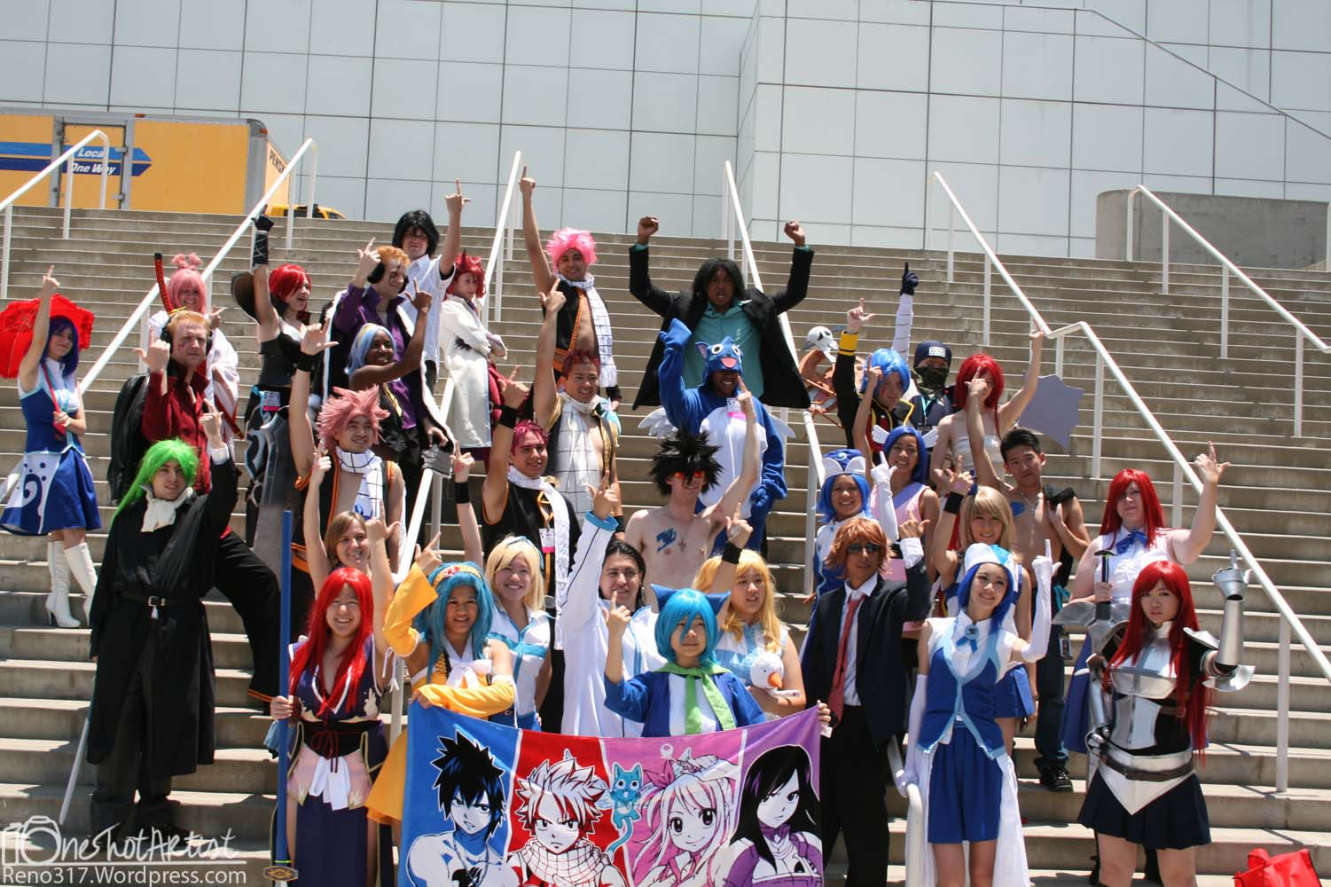 Anime Expo 2012 Fairy Tail Gathering