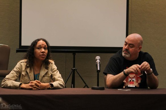 Voice Actress G.K. Bowes, and Voice Actor Kyle Hebert.